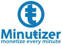Minutizer = Paypal for time logo