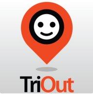 TriOut logo