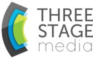 Three Stage Media logo