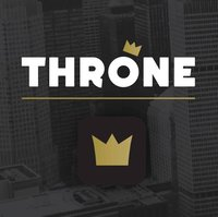 THRONE logo