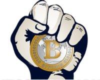Pague Com Bitcoin logo