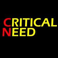 CRITICALNEED logo