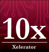 10-Xelerator logo