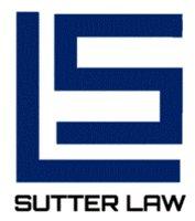 SUTTER LAW FIRM logo